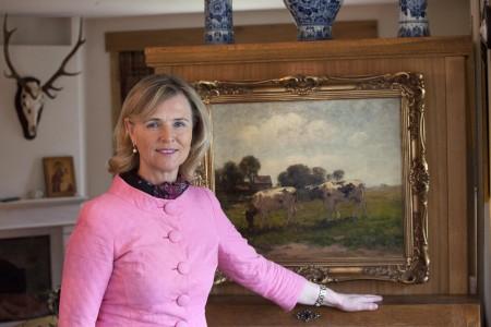 Annie koeien jacht icoon thuis